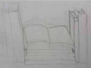 book-drawing-rough-sketch